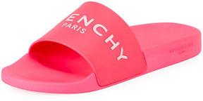 Givenchy Men's Logo Pool Slide Sandal