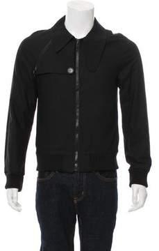 Christian Dior 2007 Lightweight Zip-Up Bomber Jacket