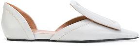 Marni square toed loafers