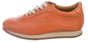 Hermes Quicker Leather Sneakers