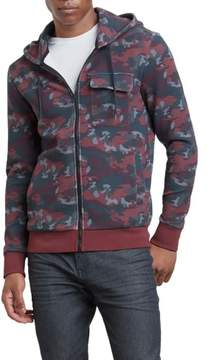 Kenneth Cole New York Reaction Kenneth Cole Zip Camo Hoodie - Men's