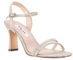 Nina Avalon Jewel-Embellished Sandals