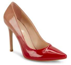 Saks Fifth Avenue Leather Point Toe Pumps