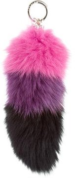 Jocelyn Colorblock Fur Keychain w/ Tags
