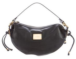 Michael Kors Leather Shoulder Bag - BLACK - STYLE