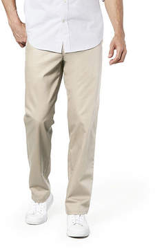 Dockers Straight Fit Flat Front Pants