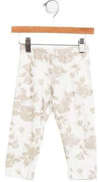 MonnaLisa Girls' Printed Stretch Pants