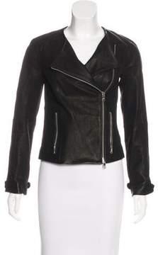 Armani Exchange 2015 Leather Moto Jacket