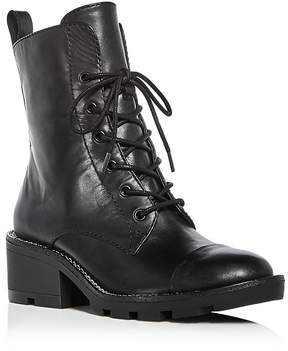 KENDALL + KYLIE Women's Park Leather Cap Toe Booties