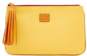 Dooney & Bourke Patterson Leather Carrington Pouch - LEMON - STYLE