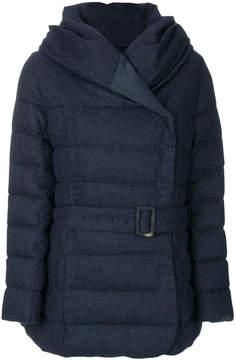 Armani Collezioni hooded puffer jacket