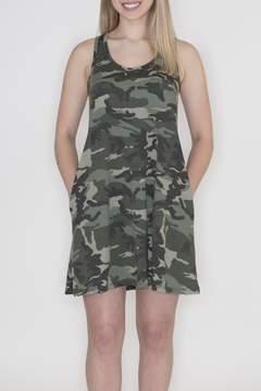 Cherish Camouflage Tank Dress