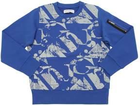 John Galliano Gazette Printed Cotton Sweatshirt