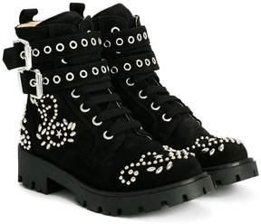 Ermanno Scervino studded boots