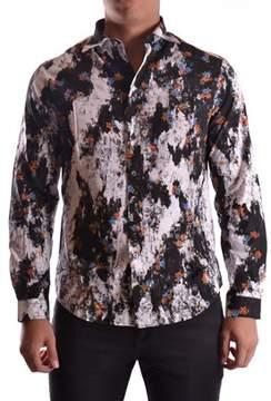 McQ Men's Multicolor Cotton Shirt.