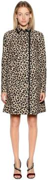 N°21 Animalier Cotton Canvas Coat