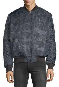 Cult of Individuality Reversible Camo Bomber