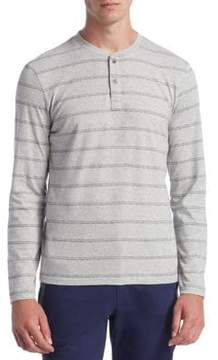 Madison Supply Linear Cotton Top