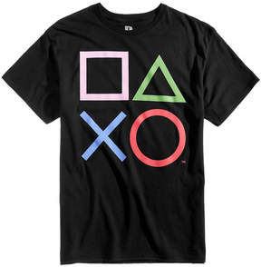 Bioworld Men's Playstation Graphic-Print T-Shirt