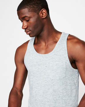 Express Jersey Scoop Neck Pocket Tank