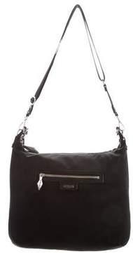 MZ Wallace Leather Trimmed Nylon Crossbody Bag