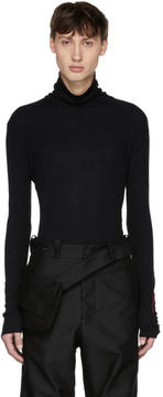 Yang Li Black Adult Entertainment Turtleneck