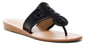 Jack Rogers Cara Croco Wedge Sandal