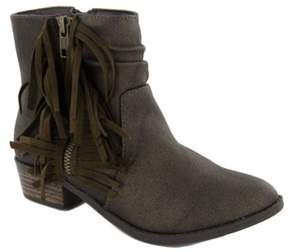 Steve Madden New Jwestern Bronze 2 Girls Shoes