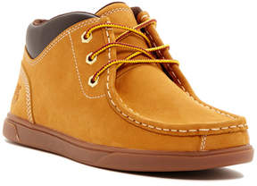 Timberland Groveton Leather Moc Toe Chukka (Little Kid)