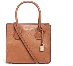 Michael Kors 'Mercer' medium leather crossbody bag - ONE COLOR - STYLE