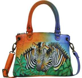 Anuschka Anna By ANNA by Hand Painted Leather Small Satchel 8252 (Women's)