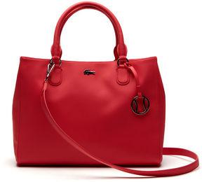 Women's Daily Classic Fine Piqu Grains Dual Carry Crossover Bag