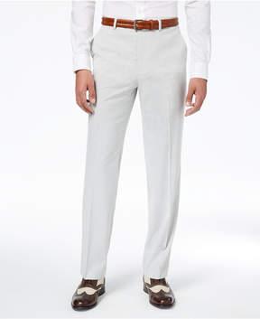 Sean John Men's Classic-Fit Stretch Gray Stripe Seersucker Suit Pants