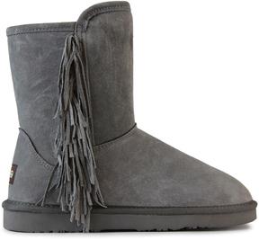 Lamo Charcoal Sellas Suede Boot - Women