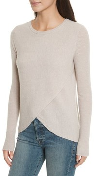 Autumn Cashmere Women's Cashmere Reversible Surplice Sweater