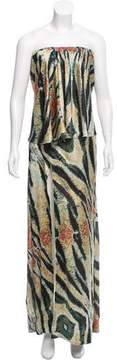 Baja East Silk Maxi Dress w/ Tags