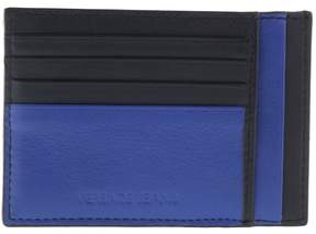 Versace EE3YRBPC4 Black/ Royal Blue Credit card wallet