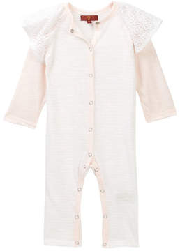 7 For All Mankind Coverall (Baby Girls)