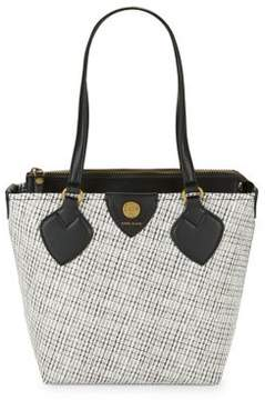 Anne Klein Printed Leather Tote