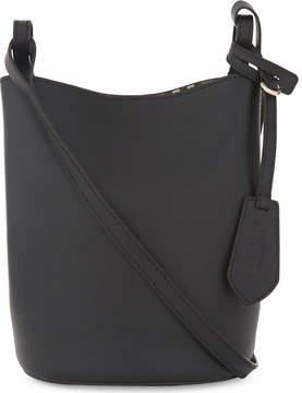 Burberry Lorne leather bucket bag - BLACK - STYLE