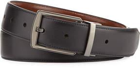 Original Penguin Men's Hi-Lo Reversible Leather Belt