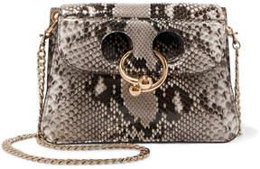 J.W.Anderson - Pierce Mini Python Shoulder Bag - Snake print