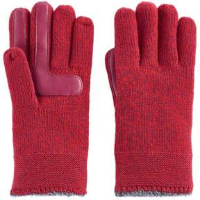 Isotoner Women's Marled Knit smarTouch smartDRI Tech Gloves