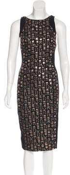 Antonio Berardi Brocade Midi Dress