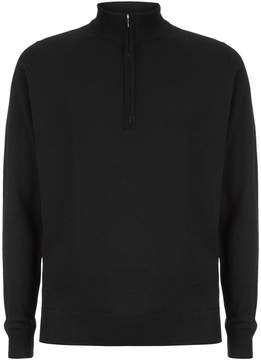 John Smedley Easy Fit Merino Zip Neck Sweater