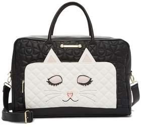 Betsey Johnson Animal Face Weekend Bag