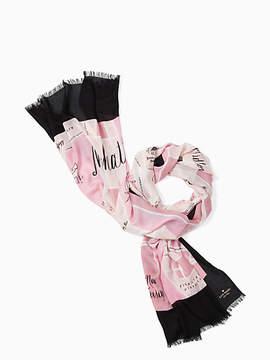 Kate Spade spring scarf