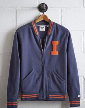 Tailgate Men's Illinois Bomber Jacket