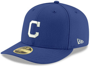 New Era Cleveland Indians Low Profile C-dub 59FIFTY Fitted Cap
