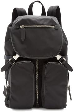 Neil Barrett Cargo-pocket nylon backpack